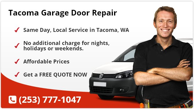 Tacoma Garage Door Repair